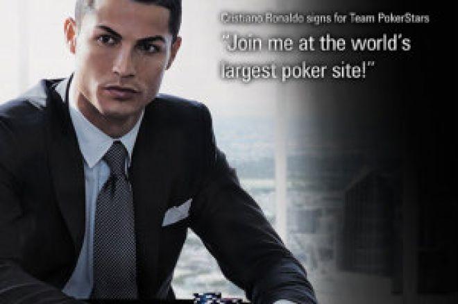 El fichaje de Cristiano Ronaldo por PokerStars llevará la rivalidad Barça-Madrid a las... 0001