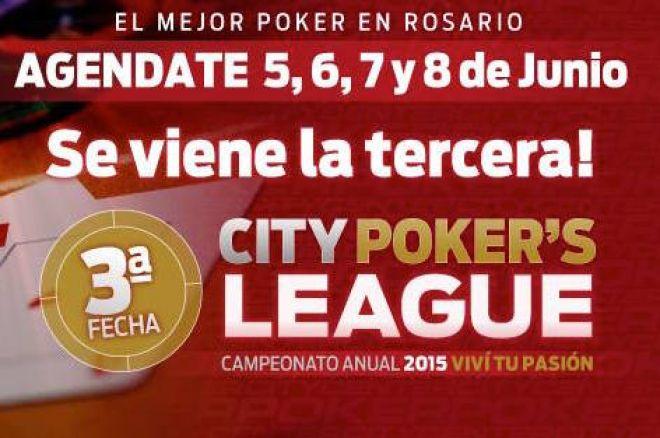 En una semana arranca la tercera fecha de la City Center Poker League 0001