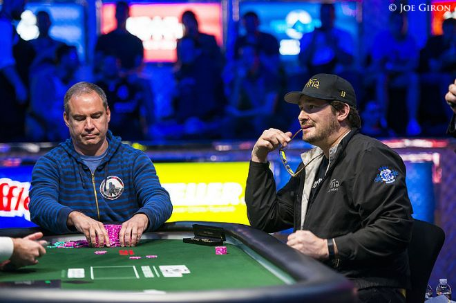 Ted Forrest and Phil Hellmuth
