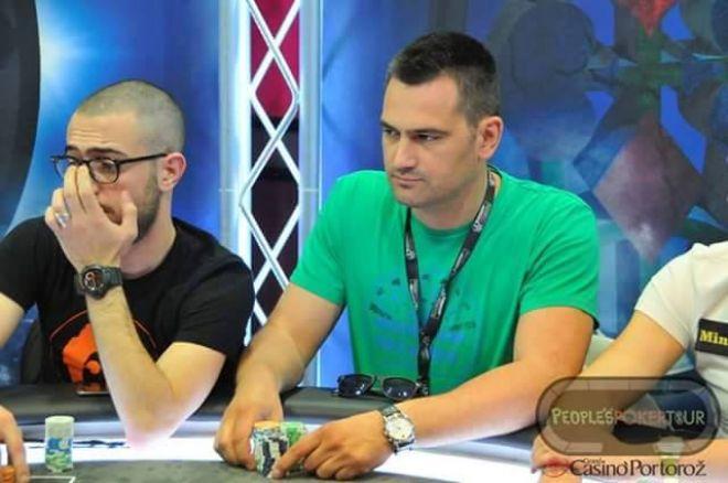 Đorđe Jovanović za Finalnim Stolom PPT Main Eventa 990€ u Portorožu 0001