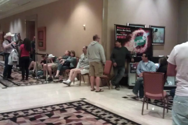 Waiting to get paid for Colossus Event.