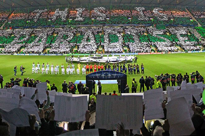 Unibet Matches Poker with Football at Celtic Park 0001