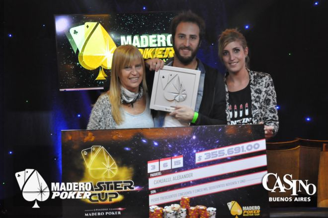 Alexander Camjalli ganó la segunda Master Cup del año y AR $355.691 0001