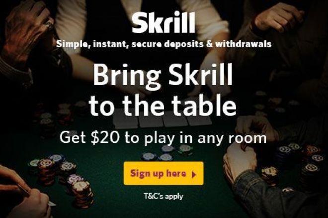Free $20 at Skrill