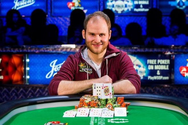 World Series of Poker 2015 WSOP Sam Greenwood