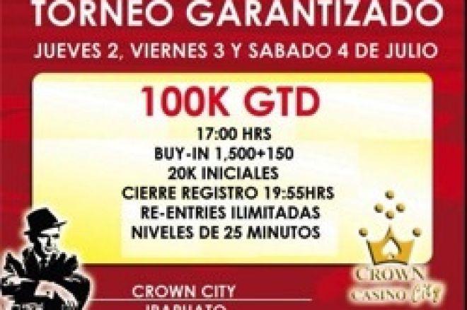 El 100K del Sinatra's Room en Irapuato, México 0001