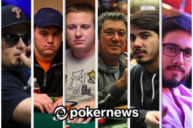 Paul Volpe Lidera, Shaun Deeb e Brian Hastings no Pódio do POY World Series Of Poker 2015... 0001
