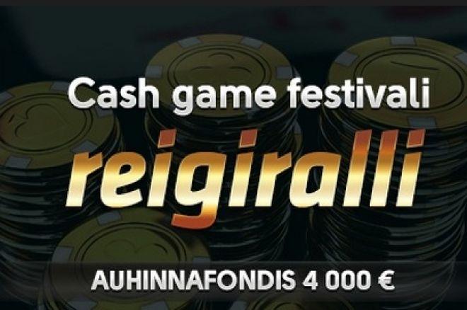 Cashgame Festival reigiralli