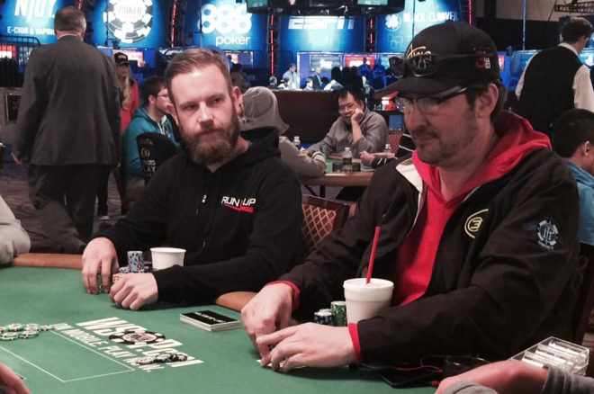 Remko Rinkema and Phil Hellmuth