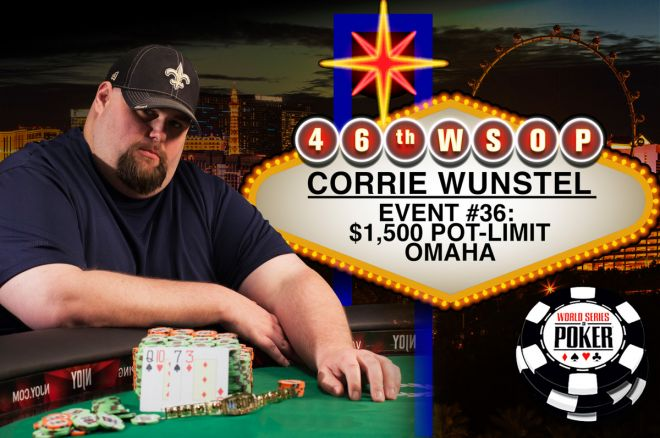 Corrie Wunstel Vence Evento #36 - $1,500 Pot-Limit Omaha ($267,435). 0001