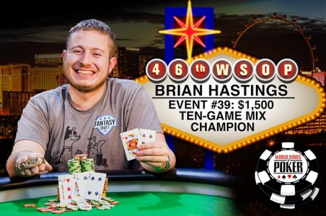 WSOP 2015 Brian Hastings