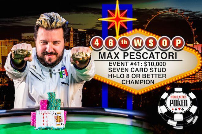 Max pescatori poker geant casino valence 2 recrutement