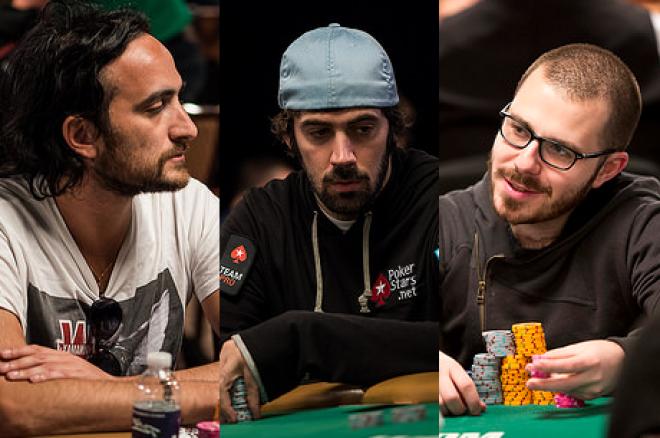 Kitai, Smit, Deeb, Mercier WSOP 2015