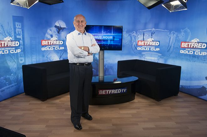 Betfred's co-founder Fred Done