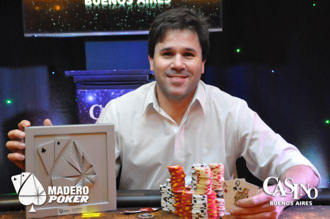 Marcelo Migliaccio se quedó con la tercera fecha de la Madero Master Cup 0001