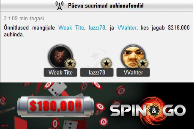 vvahter spin & go