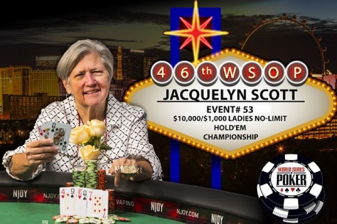 2015 WSOP Ladies Event Jacquelyn Scott