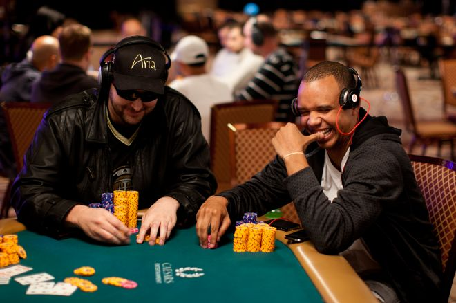 Phil Hellmuth and Phil Ivey