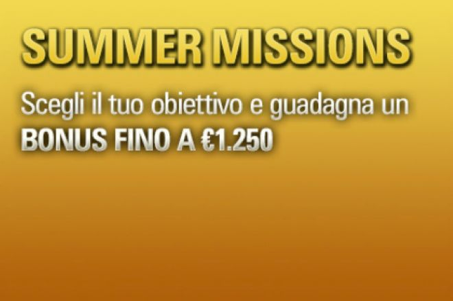 Scattano le PokerStars Summer Missions: Diventa Supernova Elite in un Mese! 0001