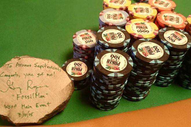 WSOP pagrindiniame turnyre - dar vienas galingas Arūno Sapitavičiaus pasirodymas! 0001