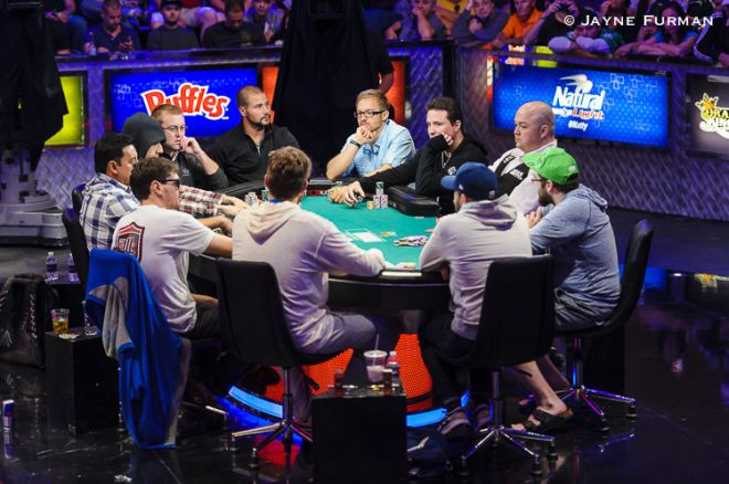 Down to 10 players at the 2014 WSOP Main Event