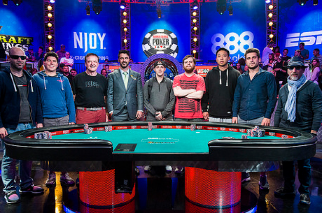WSOP 2015 Main Event November Nine