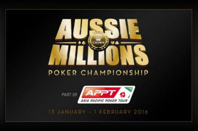Aussie Millions 2016