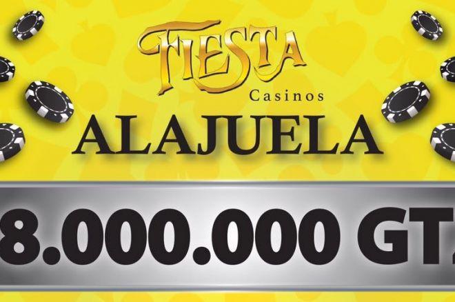 Hoy en el Casino Fiesta Torneo con ₡8,000,000 Garantizados 0001