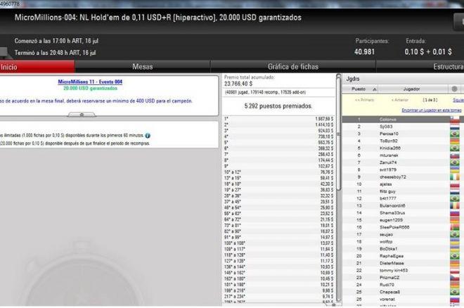 Blogger de Poker News gana Evento 4 de MicroMillions 0001