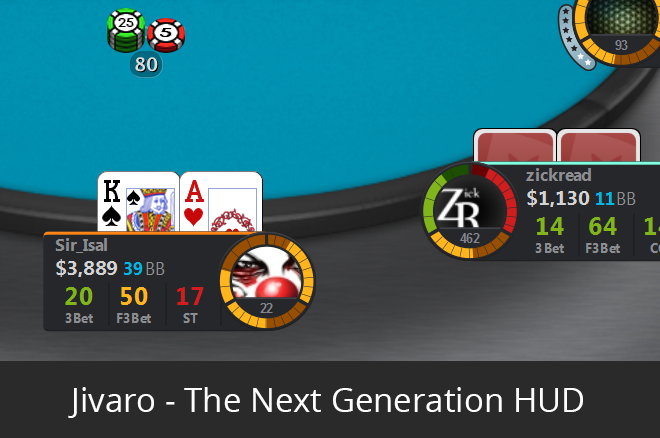 Jivaro – The Next Generation of Poker HUD's