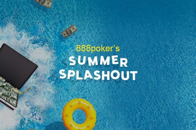 "888poker ""Summer SplashOut"" akcija - laimėk dalį iš $12,000 kasdien 0001"