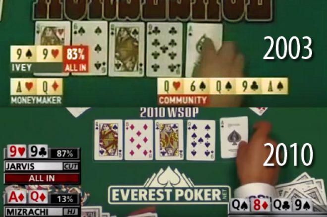 Póker történelem leosztás