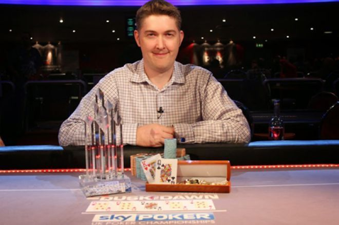 2014 Sky Poker 6-Max UKPC champion, Leigh Wiltshire