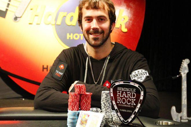 """Jasonas Mercieris triumfavo 25,400 dolerių įpirkos """"Seminole High Roller"""" 0001"""