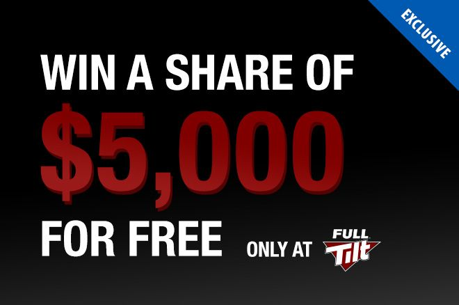 Full Tilt $5K PokerNews Exclusive Freeroll