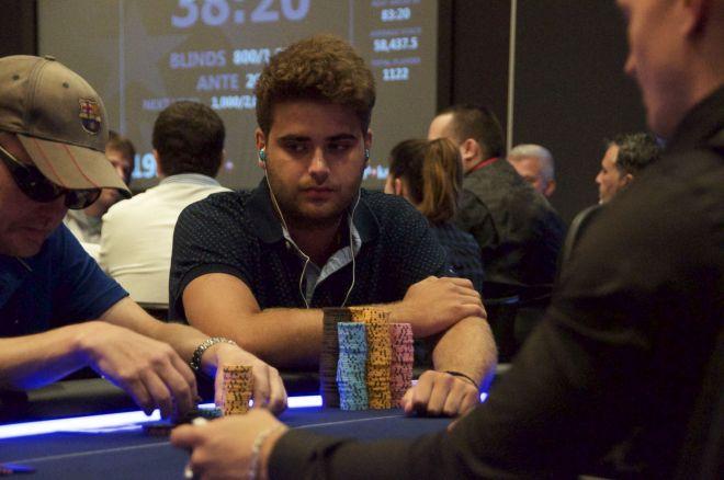 Pablo Gordillo líder provisional del Estrellas Poker Tour Barcelona 2015 0001