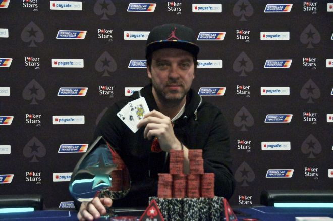 El argentino Mario López hace historia ganando el Estrellas Poker Tour Barcelona 2015 por... 0001