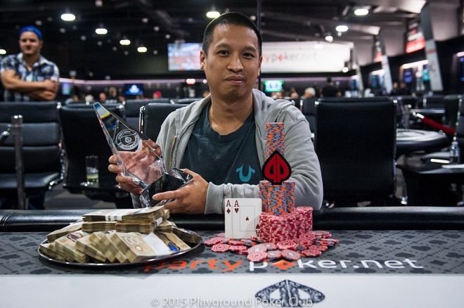 Chan Luong Playground Poker Club Montreal Poker Expo