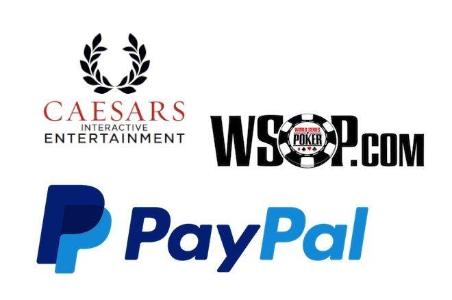 Caesars Interactive Entertainment - WSOP.com - PayPal