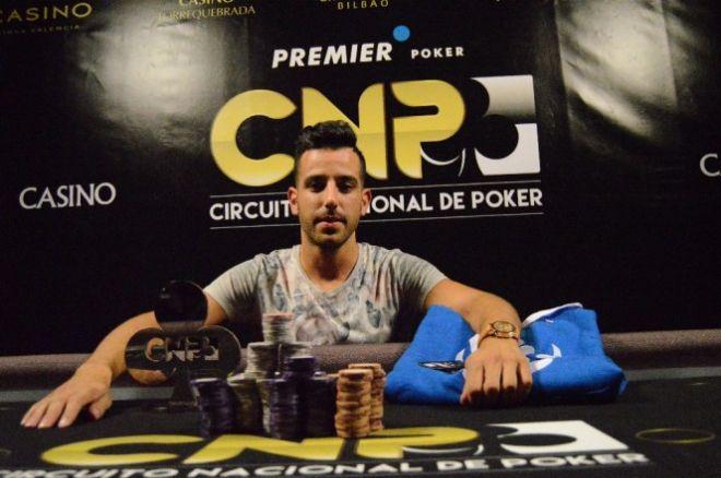 David Castaño campeón del Circuito Nacional de Poker Alicante 2015 0001