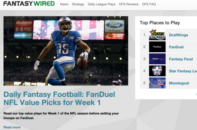 PokerNews' Sister Site FantasyWired Has Everything You Need to Succeed in NFL Week 1 0001