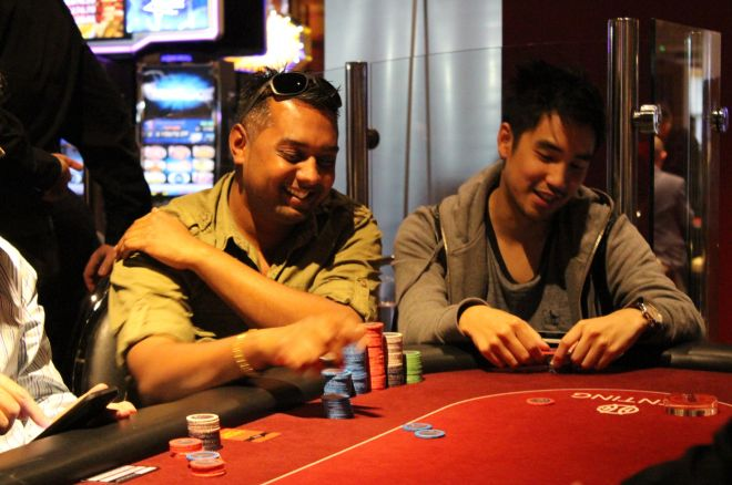 Sunil Mistri (left) and Tim Chung