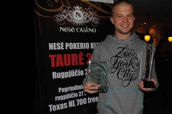 2011 metų nugalėtojas A. Rusinovas