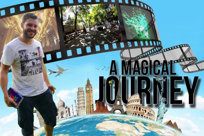 [VIDEO] A Magical Journey - Remco de Vries gaat al pokerend de wereld over met zijn Go Pro