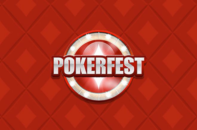 Pokerfest Online Kicks Off On Sept. 27 with 80 Events And $2.5 Million in Guarantees 0001