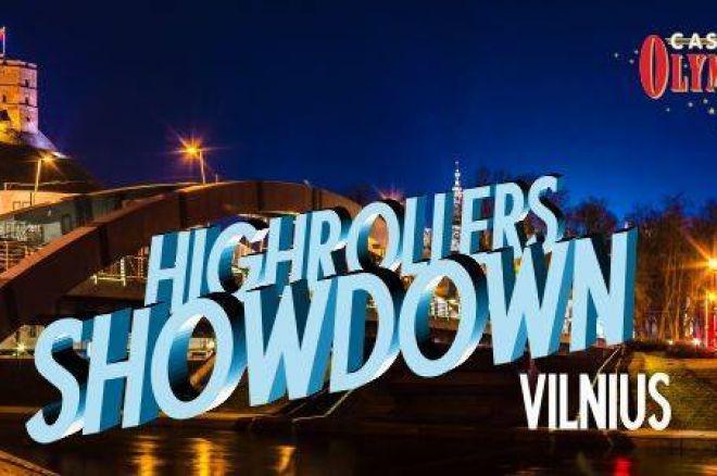 """Vilniaus """"Olympic"""" pokerio klube - 1,100 eurų įpirkos """"Highroller's Showdown"""" 0001"""