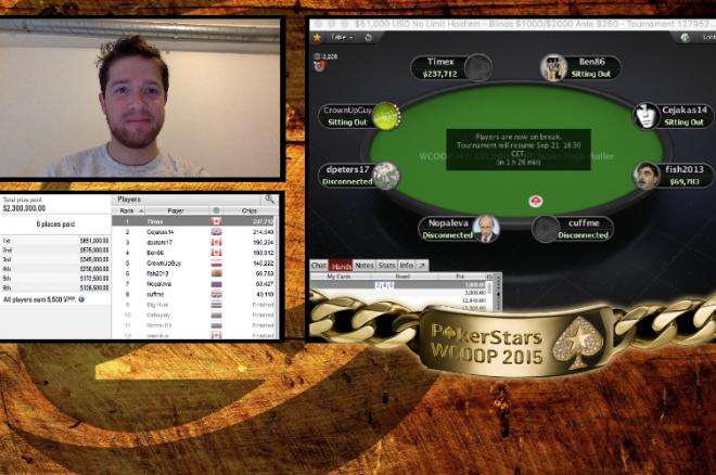 WCOOP Recap - Dag 15 - Mike McDonald chipleader aan het einde van Dag 1 $51.000 toernooi
