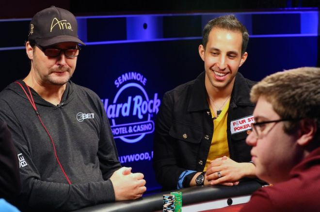 "Alec Torelli and Phil Hellmuth on ""Poker Night in America"""