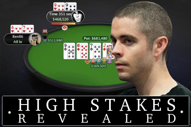 High Stakes Revealed - Bekijk de $51.000 Super High Roller die Ben Tollerene won met hole-cards!