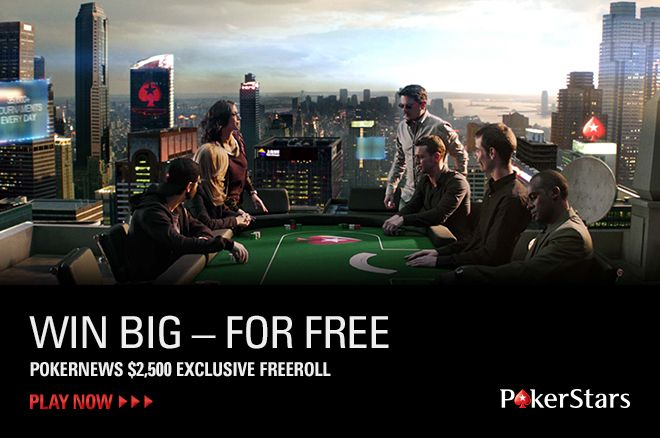 Grab Some Free Cash in this $2,500 Freeroll 0001
